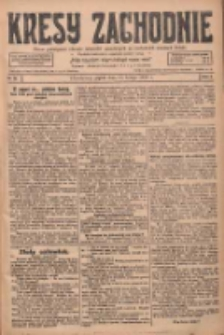 Kresy Zachodnie: pismo poświęcone obronie interesów narodowych na zachodnich ziemiach Polski 1928.02.17 R.6 Nr39
