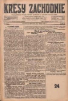 Kresy Zachodnie: pismo poświęcone obronie interesów narodowych na zachodnich ziemiach Polski 1928.02.29 R.6 Nr49