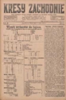 Kresy Zachodnie: pismo poświęcone obronie interesów narodowych na zachodnich ziemiach Polski 1928.03.06 R.6 Nr54