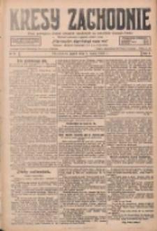 Kresy Zachodnie: pismo poświęcone obronie interesów narodowych na zachodnich ziemiach Polski 1928.03.09 R.6 Nr57