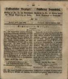 Oeffentlicher Anzeiger. 1851.06. 03 Nro.22