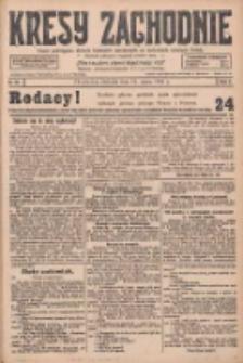 Kresy Zachodnie: pismo poświęcone obronie interesów narodowych na zachodnich ziemiach Polski 1928.03.11 R.6 Nr59