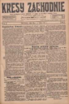 Kresy Zachodnie: pismo poświęcone obronie interesów narodowych na zachodnich ziemiach Polski 1928.03.16 R.6 Nr63