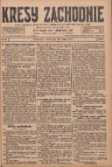 Kresy Zachodnie: pismo poświęcone obronie interesów narodowych na zachodnich ziemiach Polski 1928.03.20 R.6 Nr66