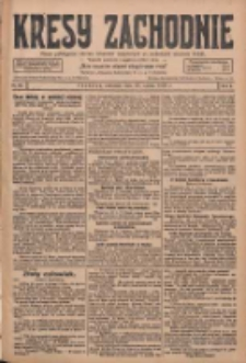 Kresy Zachodnie: pismo poświęcone obronie interesów narodowych na zachodnich ziemiach Polski 1928.03.22 R.6 Nr68