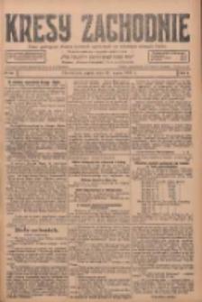 Kresy Zachodnie: pismo poświęcone obronie interesów narodowych na zachodnich ziemiach Polski 1928.03.23 R.6 Nr69