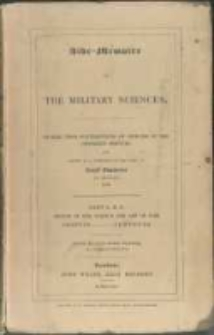 Aide-mémoire to the military sciences: framed from contributions of officers of the different services and edited by a committee of the Corps of Royal Engineers in Dublin. Vol. 1, Abattis-Ford. Part 1, Abattis-Contours