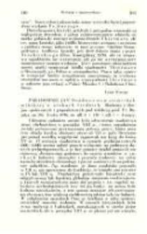 Paradowski Jan. Osadnictwo w ziemi chełmińskiej w wiekach średnich. (Badania z dziejów społecznych i gospodarczych nr 28). Lwów 1936