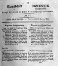 Amtsblatt der Königlichen Regierung zu Posen. 1845.06.10 Nro.23