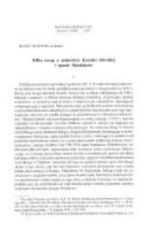 Kilka uwag o autorstwie Kroniki oliwskiej i opacie Stanisławie