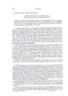 """Krytyczne Uwagi o najnowszycm, Siódmym tomie """"Bullarium Poloniae"""" [Bullarium Poloniae, t. VII. Romae-Lublin 2006]"""