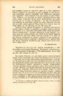 Kazimierz Tymieniecki, Traktat merseburski z r. 1013 (Z ze studiów nad kroniką Thietmara), Wiadomości Archeologiczne, T. XVI, Posen 1940