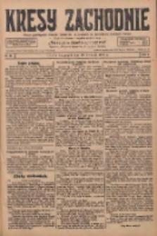 Kresy Zachodnie: pismo poświęcone obronie interesów narodowych na zachodnich ziemiach Polski 1928.04.13 R.6 Nr86