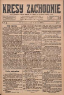 Kresy Zachodnie: pismo poświęcone obronie interesów narodowych na zachodnich ziemiach Polski 1928.04.14 R.6 Nr87