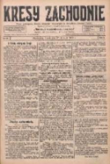 Kresy Zachodnie: pismo poświęcone obronie interesów narodowych na zachodnich ziemiach Polski 1928.04.17 R.6 Nr89