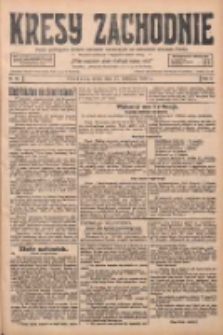 Kresy Zachodnie: pismo poświęcone obronie interesów narodowych na zachodnich ziemiach Polski 1928.04.25 R.6 Nr96