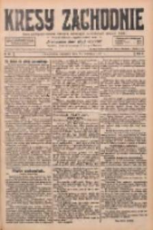 Kresy Zachodnie: pismo poświęcone obronie interesów narodowych na zachodnich ziemiach Polski 1928.04.26 R.6 Nr97