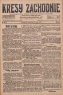 Kresy Zachodnie: pismo poświęcone obronie interesów narodowych na zachodnich ziemiach Polski 1928.05.02 R.6 Nr102
