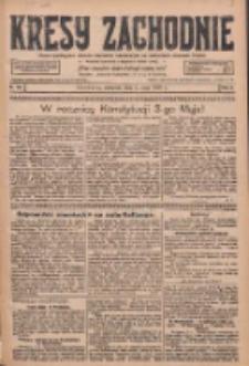 Kresy Zachodnie: pismo poświęcone obronie interesów narodowych na zachodnich ziemiach Polski 1928.05.03 R.6 Nr103