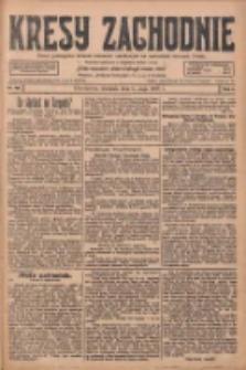 Kresy Zachodnie: pismo poświęcone obronie interesów narodowych na zachodnich ziemiach Polski 1928.05.06 R.6 Nr105