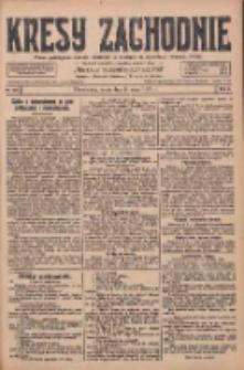Kresy Zachodnie: pismo poświęcone obronie interesów narodowych na zachodnich ziemiach Polski 1928.05.09 R.6 Nr107