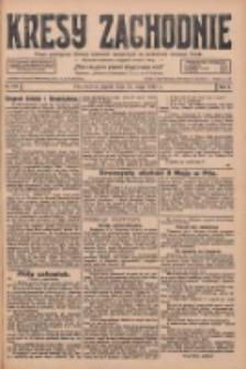 Kresy Zachodnie: pismo poświęcone obronie interesów narodowych na zachodnich ziemiach Polski 1928.05.11 R.6 Nr109