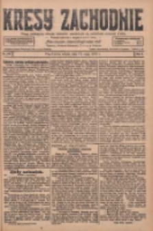 Kresy Zachodnie: pismo poświęcone obronie interesów narodowych na zachodnich ziemiach Polski 1928.05.12 R.6 Nr110