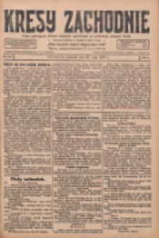 Kresy Zachodnie: pismo poświęcone obronie interesów narodowych na zachodnich ziemiach Polski 1928.05.20 R.6 Nr116