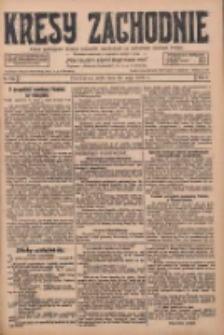 Kresy Zachodnie: pismo poświęcone obronie interesów narodowych na zachodnich ziemiach Polski 1928.05.23 R.6 Nr118