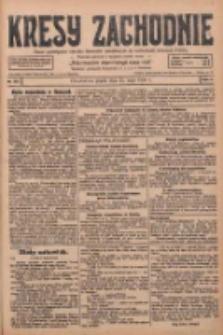 Kresy Zachodnie: pismo poświęcone obronie interesów narodowych na zachodnich ziemiach Polski 1928.05.25 R.6 Nr120