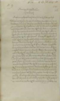 List Jana Firleya z Dąbrowicy podskarbiego koronnego do króla Zygmunta III, Markuszowa 29.07.1602