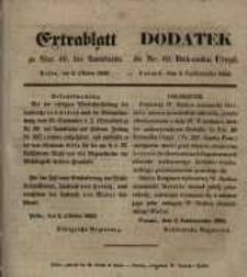 Dodatek do Nr. 40. Dziennika Urzęd. Poznań, dnia 2. Października 1855.