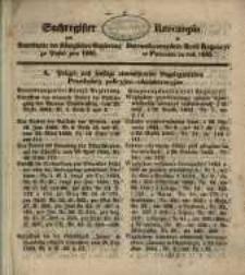 Rzeczopios do Dziennika Urzędow. Król. Regencyi w Poznaniu za rok 1855.