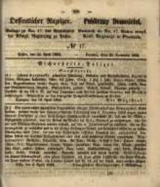 Oeffentlicher Anzeiger. 1855.04.24 Nr.17