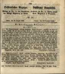 Oeffentlicher Anzeiger. 1856.08.19 Nro. 34 Wielkopolska