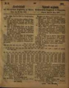 Amtsblatt der Königlichen Regierung zu Posen. 1863.05.26 Nro.21