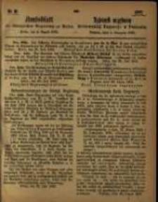 Amtsblatt der Königlichen Regierung zu Posen. 1863.08.04 Nro.31
