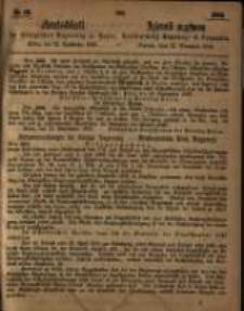 Amtsblatt der Königlichen Regierung zu Posen. 1863.09.22 Nro.38