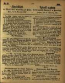 Amtsblatt der Königlichen Regierung zu Posen. 1863.11.24 Nro.47