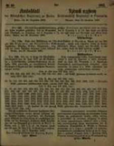 Amtsblatt der Königlichen Regierung zu Posen. 1863.12.15 Nro.50