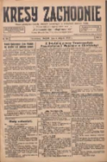 Kresy Zachodnie: pismo poświęcone obronie interesów narodowych na zachodnich ziemiach Polski 1928.08.05 R.6 Nr179