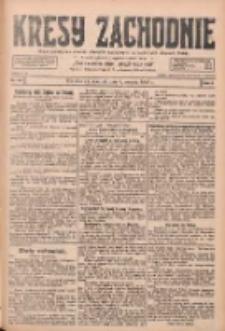 Kresy Zachodnie: pismo poświęcone obronie interesów narodowych na zachodnich ziemiach Polski 1928.08.09 R.6 Nr182