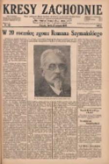 Kresy Zachodnie: pismo poświęcone obronie interesów narodowych na zachodnich ziemiach Polski 1928.08.22 R.6 Nr192