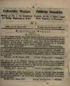 Oeffentlicher Anzeiger. 1857.01.13 Nro.2