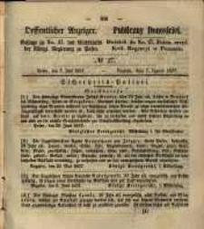 Oeffentlicher Anzeiger. 1857.07.07 Nro.27