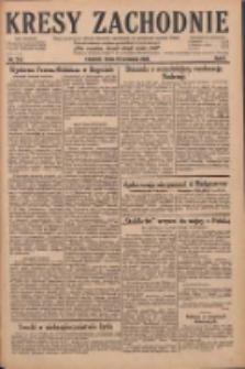 Kresy Zachodnie: pismo poświęcone obronie interesów narodowych na zachodnich ziemiach Polski 1928.09.19 R.6 Nr216
