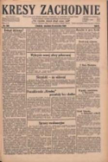 Kresy Zachodnie: pismo poświęcone obronie interesów narodowych na zachodnich ziemiach Polski 1928.09.30 R.6 Nr226