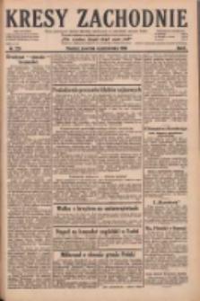 Kresy Zachodnie: pismo poświęcone obronie interesów narodowych na zachodnich ziemiach Polski 1928.10.04 R.6 Nr229