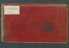 Notatnik z 1 ćwierci XIX w. Zbiór wierszy okolicznościowych, aforyzmów, myśli różnych autorów i uwag własnych