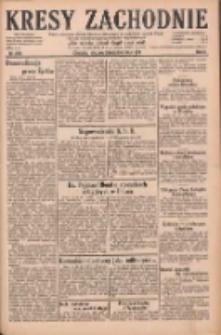 Kresy Zachodnie: pismo poświęcone obronie interesów narodowych na zachodnich ziemiach Polski 1928.10.28 R.6 Nr250